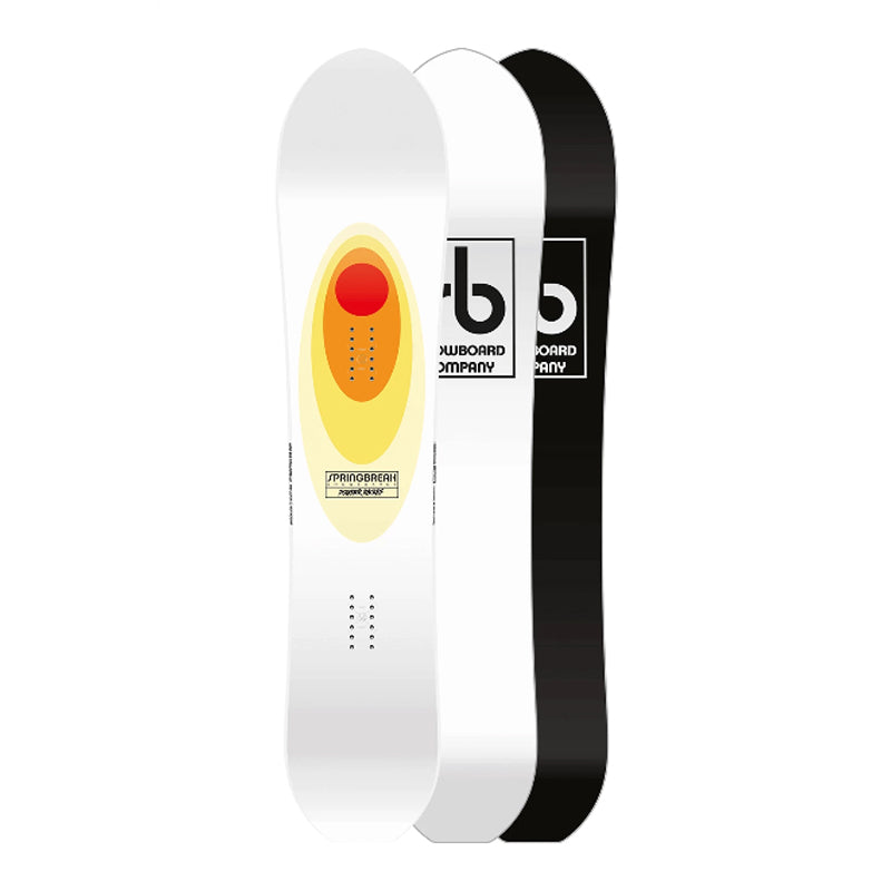 Mens Spring Break Powder Racers Snowboard