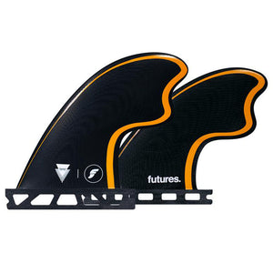 Futures Tomo Control Series Quad Fin Set