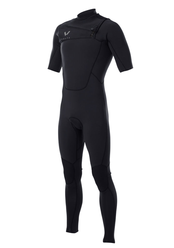 Volte Men's Premium 2x2 Chest Zip S/S Fullsuit Wetsuit