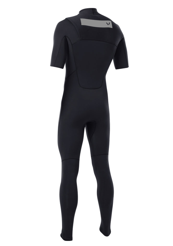 Volte Men's Premium 2x2 Chest Zip S/S Fullsuit Wetsuit FA19