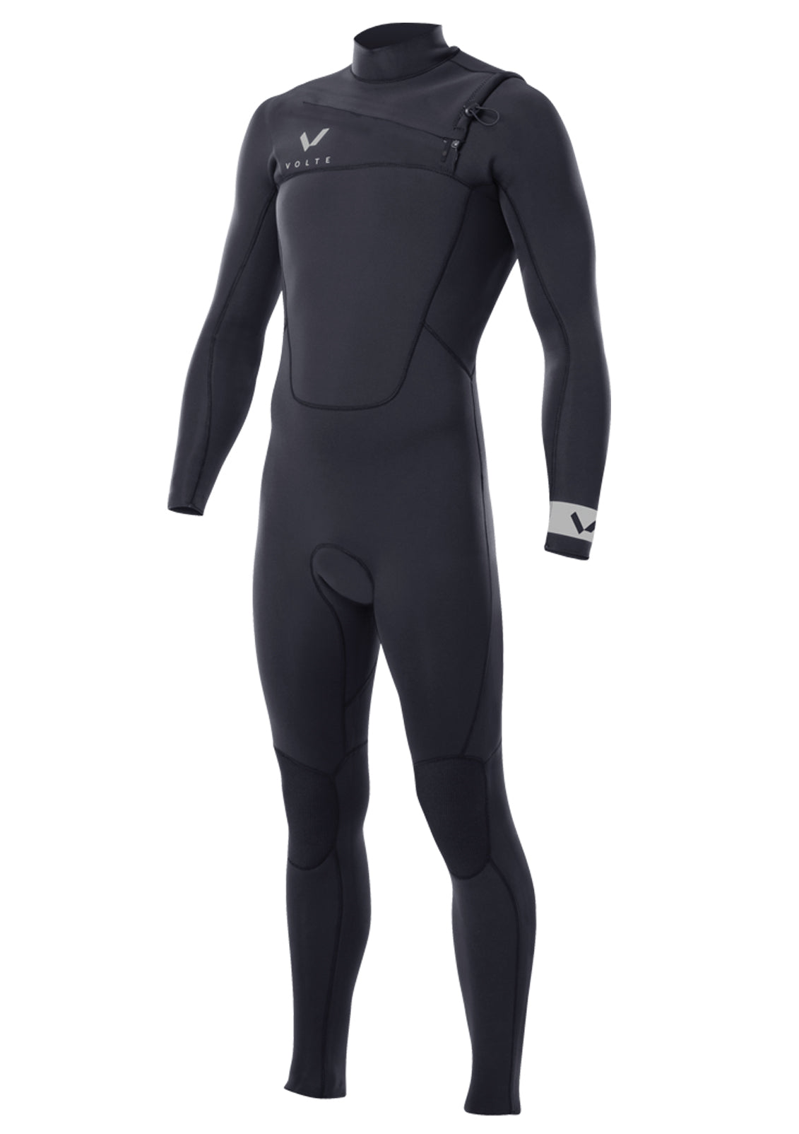 Volte Men's Premium 3x2 Chest Zip Fullsuit Wetsuit