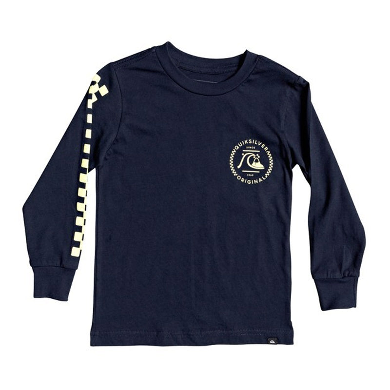 Boys (2T-7X) Golden Embers L/S Tee