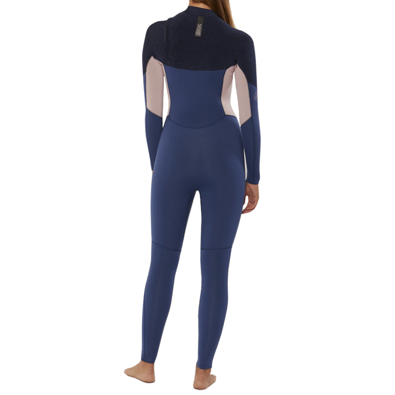 Sisstrevolution Women's 7 Seas 3/2mm Chest Zip Fullsuit Wetsuit FA19