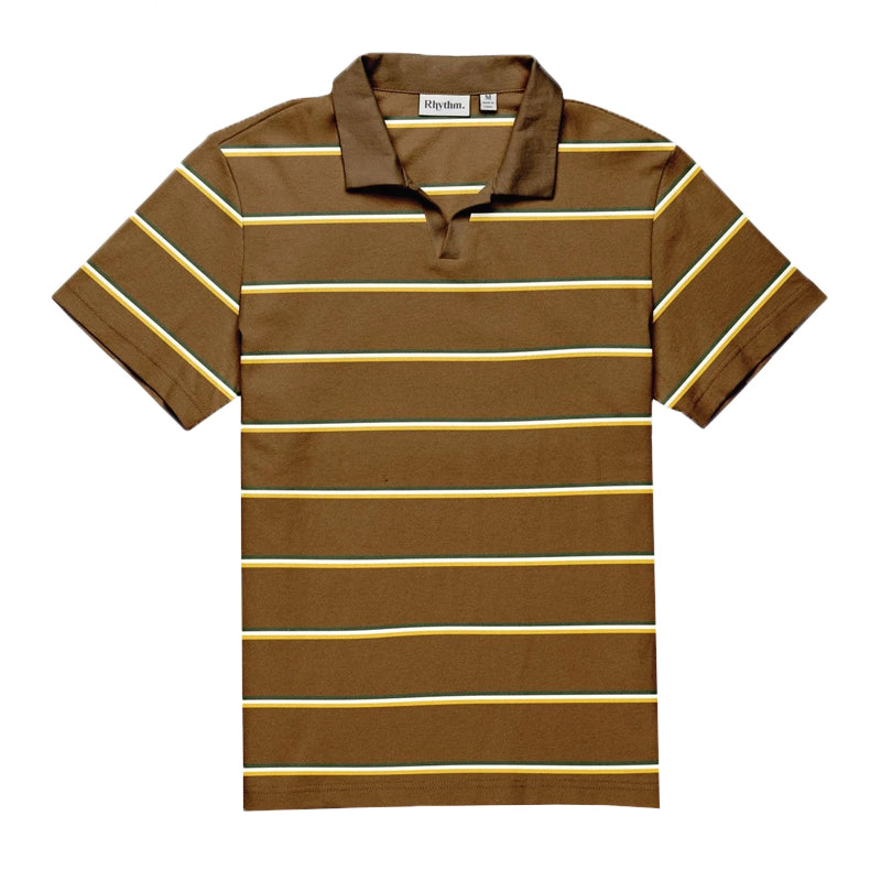 Rhythm Men's Surf Polo S/S Shirt FA19