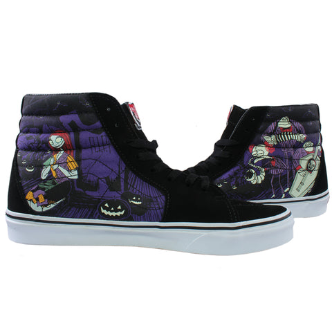Nightmare Before Christmas X Vans Sk8-Hi Shoes