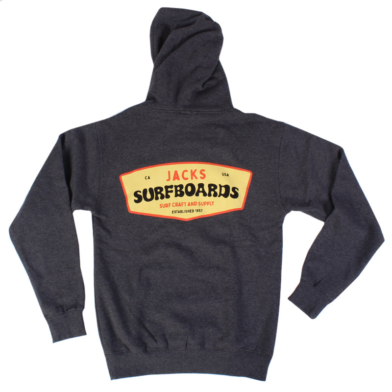Jack's Surfboards Men's Moby Pullover Hoodie