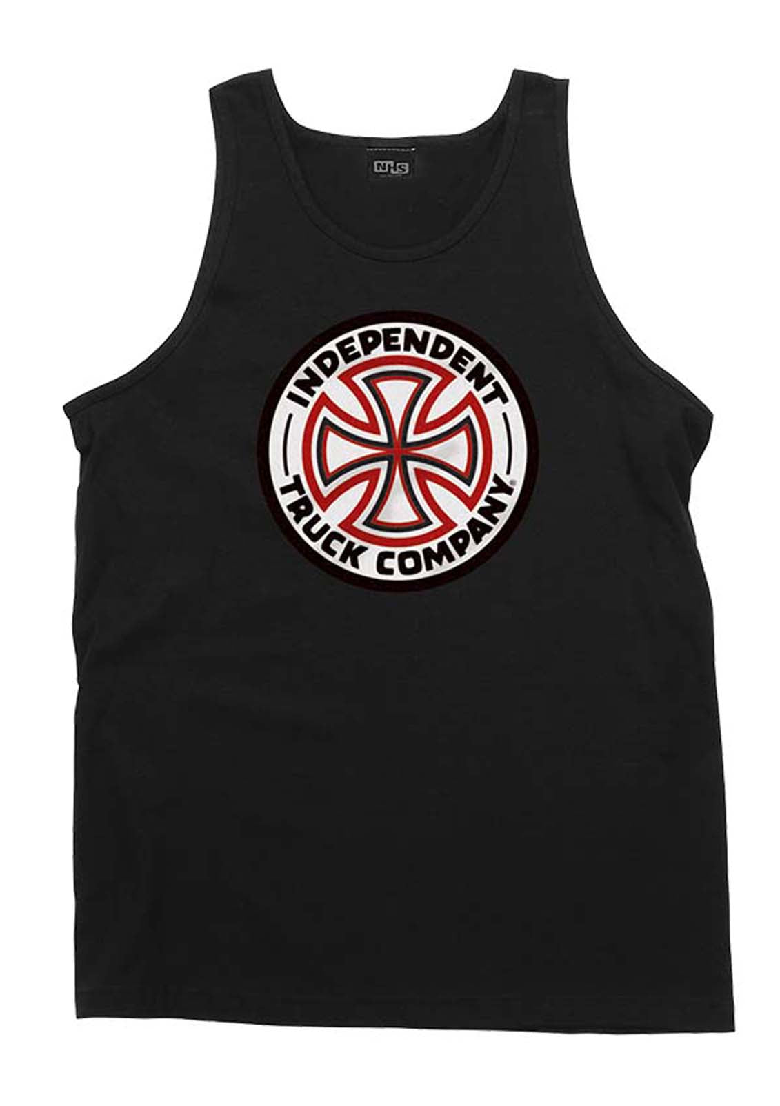 Red/White Cross Regular Fit Tank Top