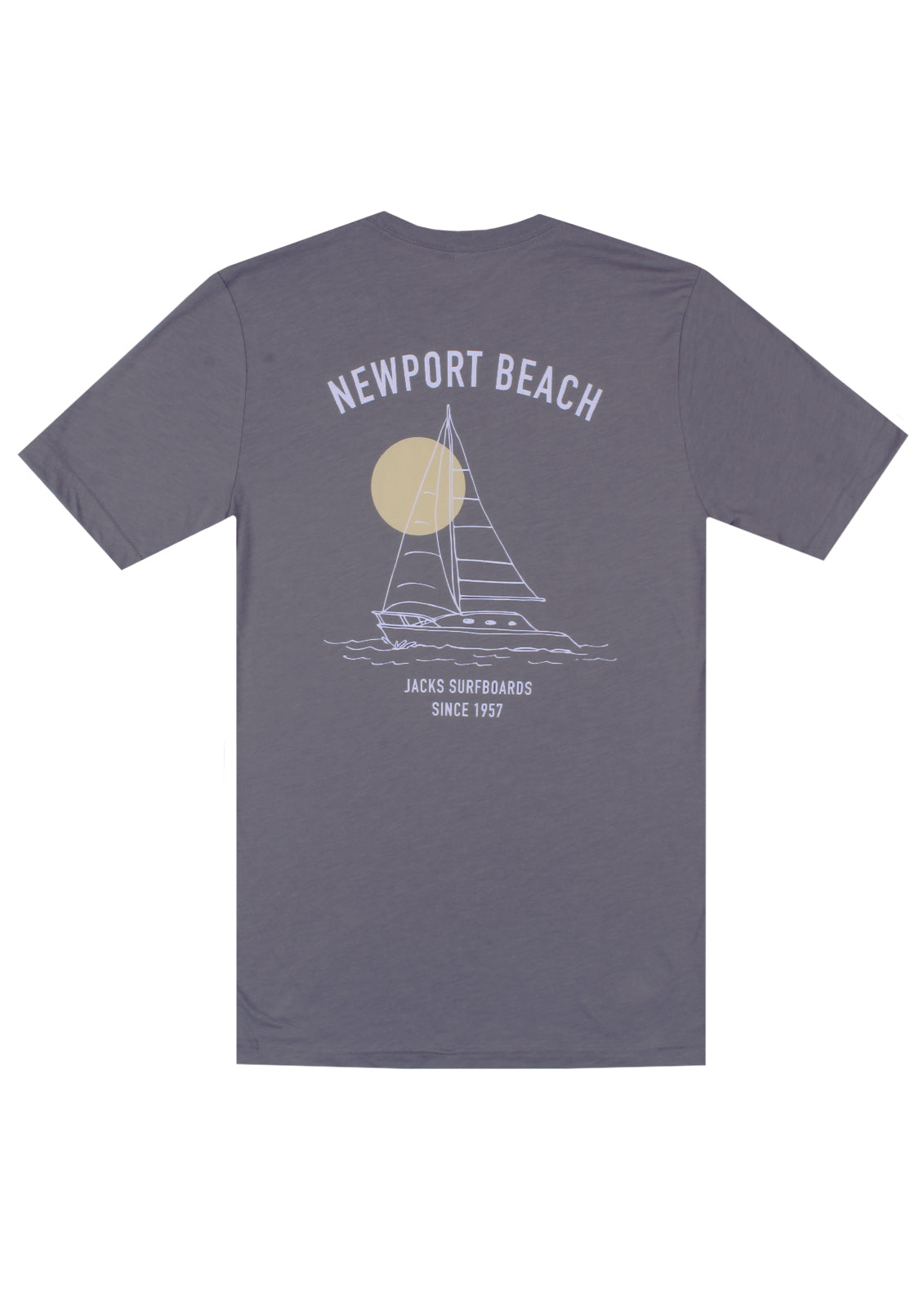 Jacks Surfboard Women Sailing Newport Short Sleeve Tee