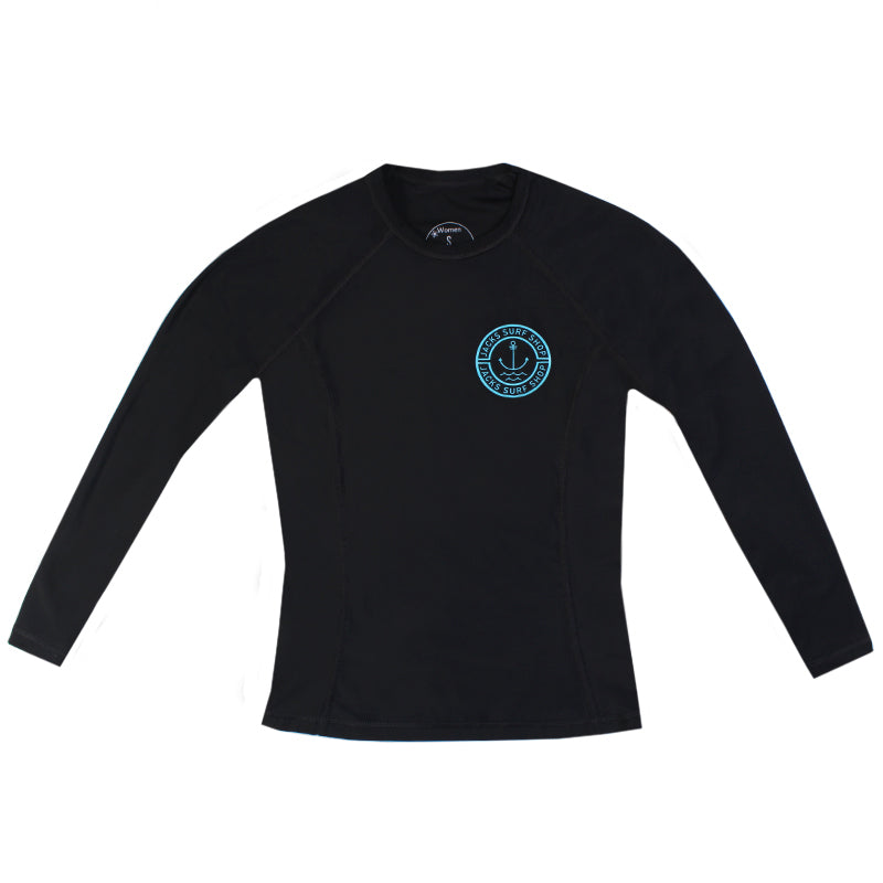 Jacks Surfboard Youth UPF 50+ Anchor Lycra Long Sleeve Rashguard