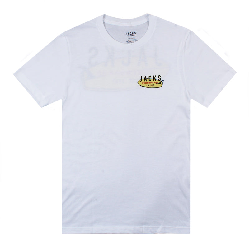 Jacks Surfboard Belly Board Short Sleeve Tee
