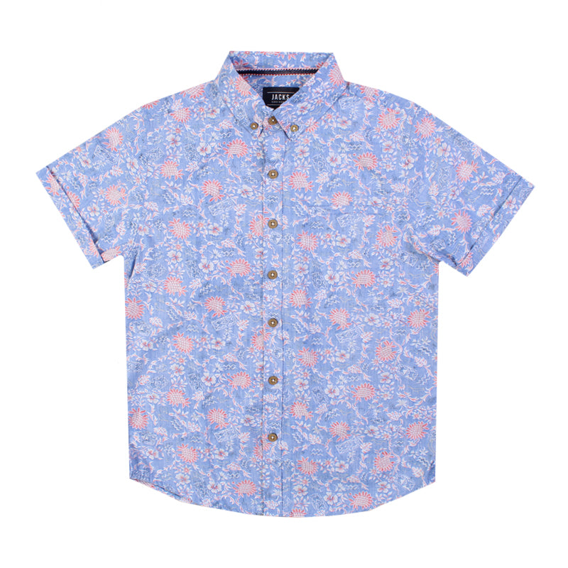 Boys Chances Button Up Shirt