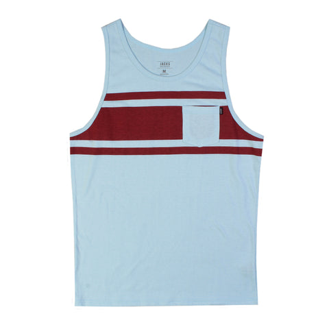 Jacks Surfboard Comp Stripe Tank Top