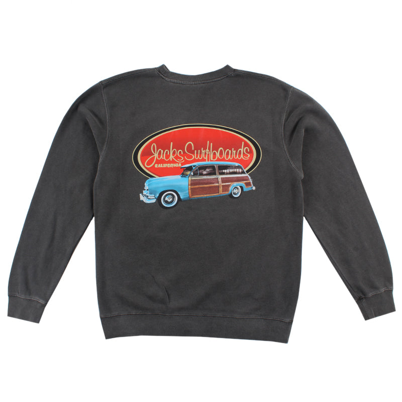 Jacks Surfboard Country Squire PGMT Crewneck Pullover