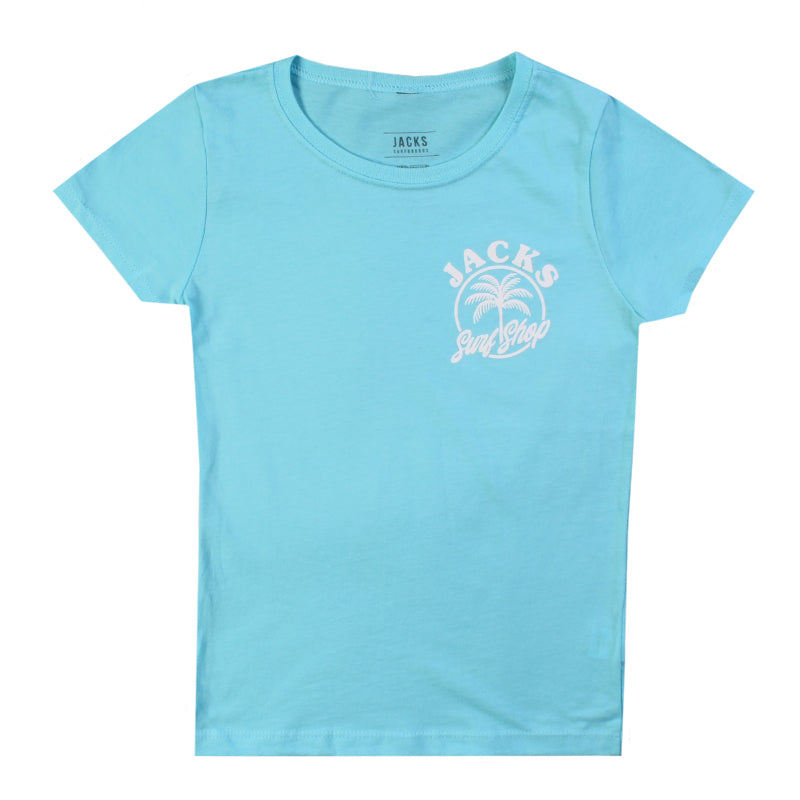 Jacks Surfboard Girls Central Short Sleeve Tee