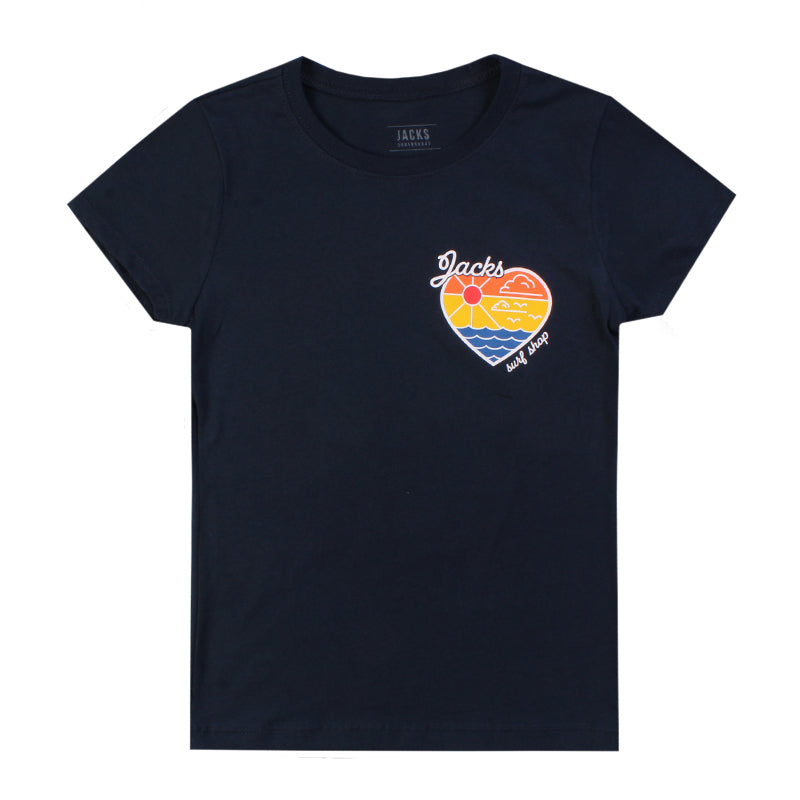 Jacks Surfboard Girls Offshore Short Sleeve Tee