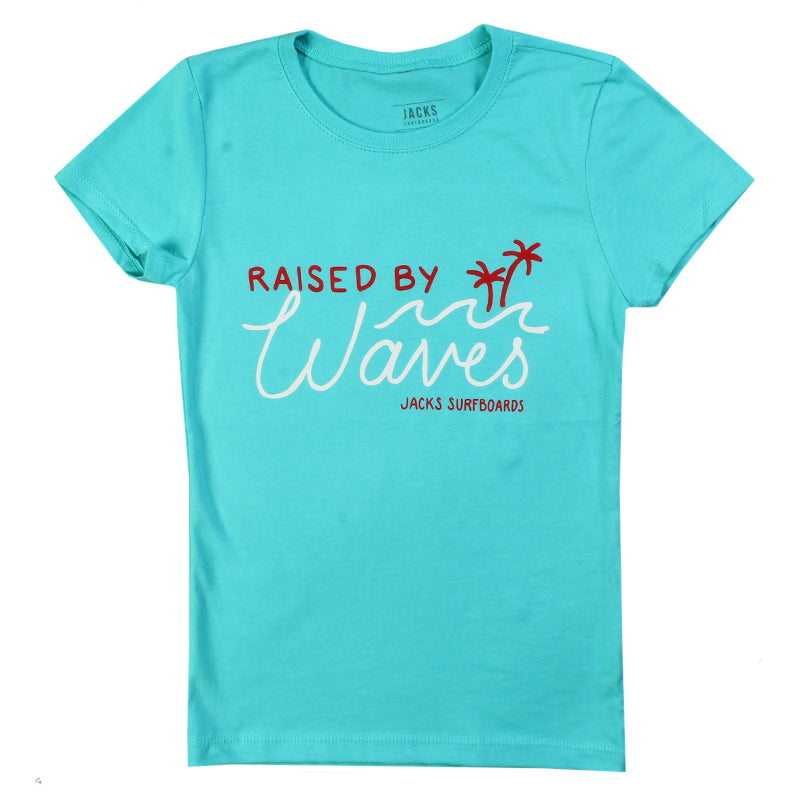 Jacks Surfboard Girls Raised Short Sleeve Tee