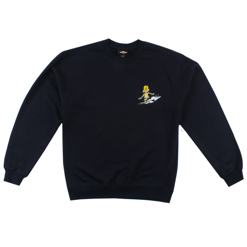 Jacks Surfboard Keep On Surfin Crewneck Pullover