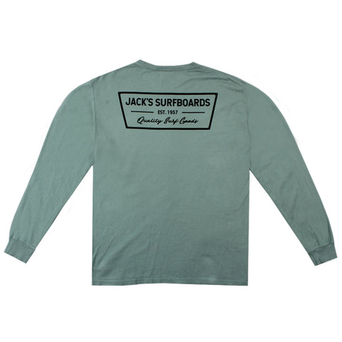 Jacks Surfboard Mortar Long Sleeve Tee