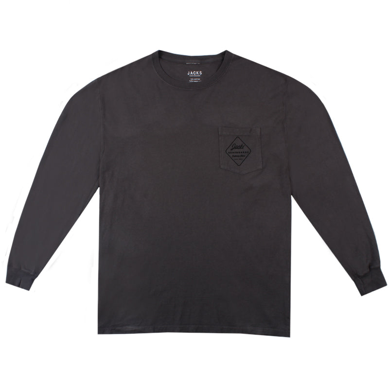 Jacks Surfboard Simple Long Sleeve Tee