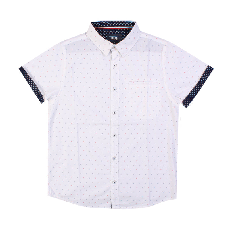 Boys Midnight Button Up Shirt