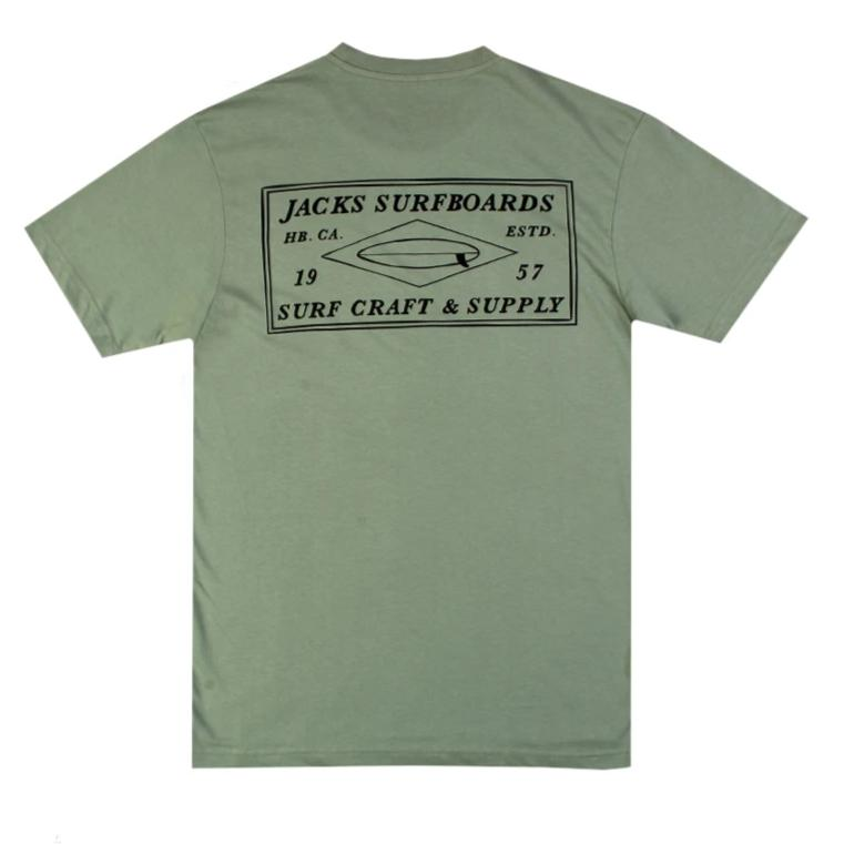 Jacks Surfboard Milton Short Sleeve Tee