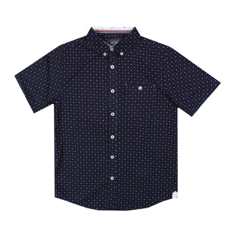 Jacks Surfboard Boys North Point Button Up Shirt