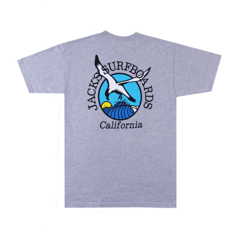 Jacks Surfboard Original Seagull Short Sleeve Tee