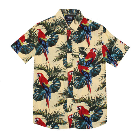Parrot Button Up Shirt