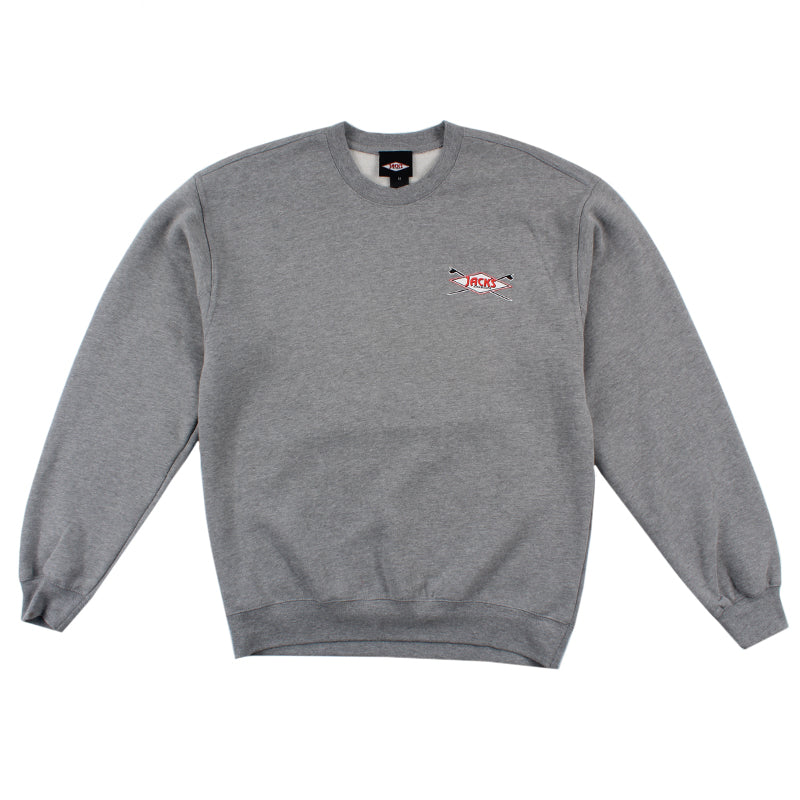 Jacks Surfboard Plate Lunch Crewneck Pullover