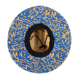 Jacks Surfboards Retro Lam Lifeguard Straw Hat