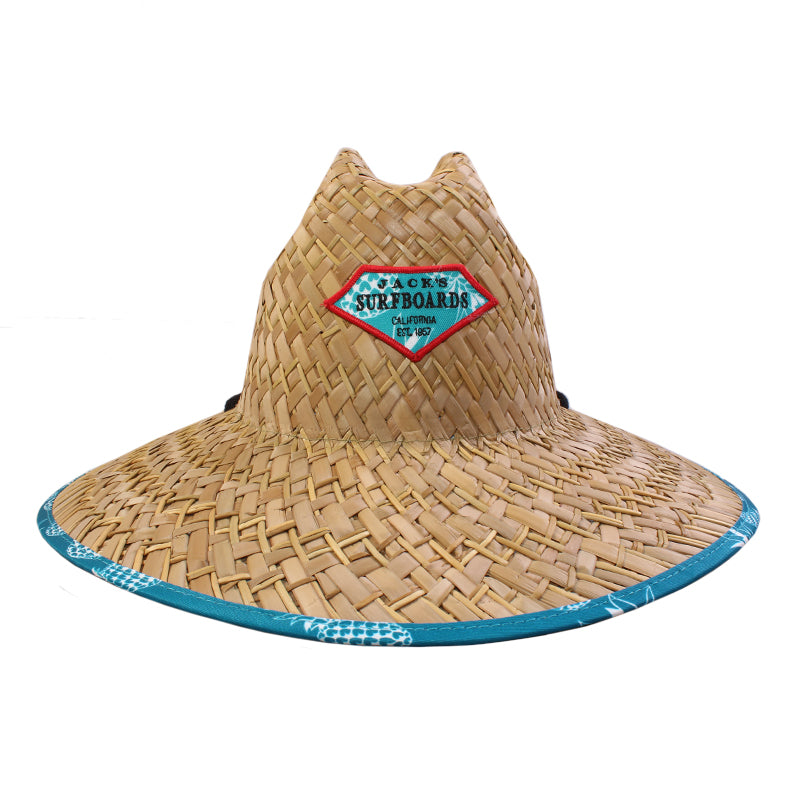 Retro Lam Lifeguard Straw Hat