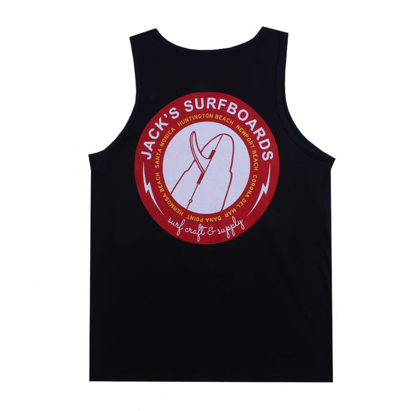 Jacks Surfboard Rotator Tank Top