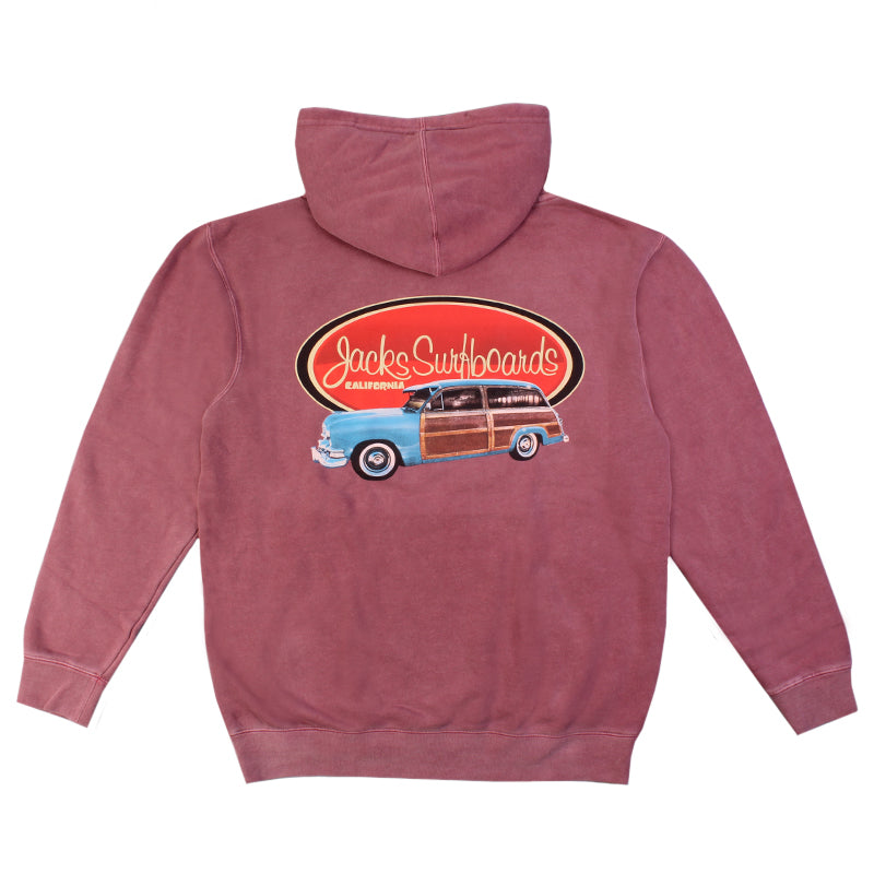 Jacks Surfboard Country Squire Vintage Wash Hoodie
