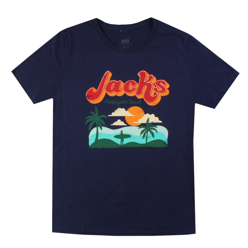 Jacks Surfboard Women's HB Aloha Short Sleeve Tee