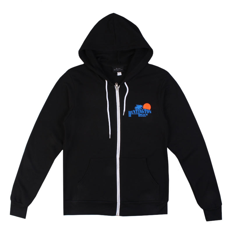Jacks Surfboard HB Sunrise Zip Up Hoodie