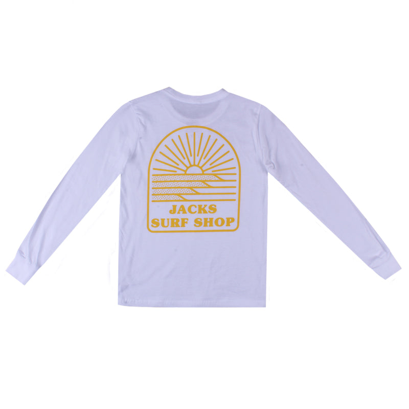 Jacks Surfboard Girls Sunline Long Sleeve Tee