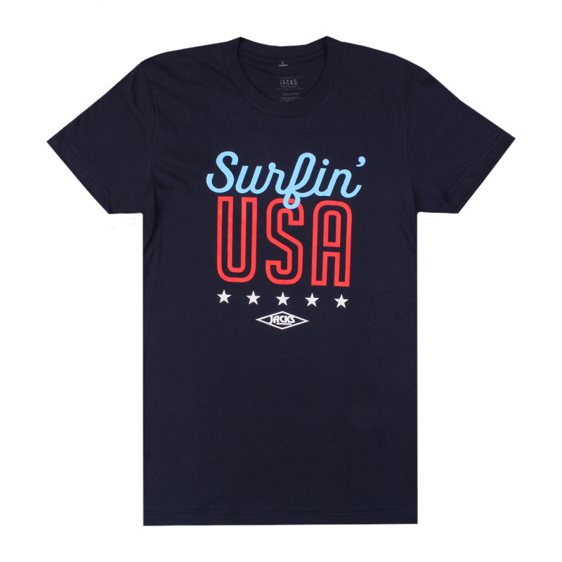 Jacks Surfboard Women's Surfin USA Short Sleeve Tee