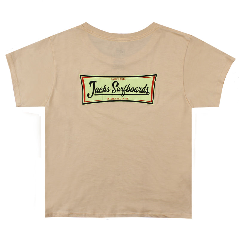 Jacks Surfboard Women's Vista Short Sleeve Tee
