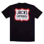 Jacks Surfboard Highway Short Sleeve Tee