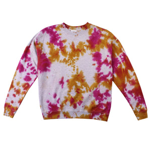 Women's Tie-Dye Crewneck Sweater