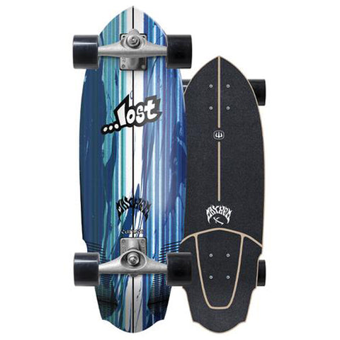 "2019 Lost x Carver 30"" V3 Rocket Surfskate Complete"