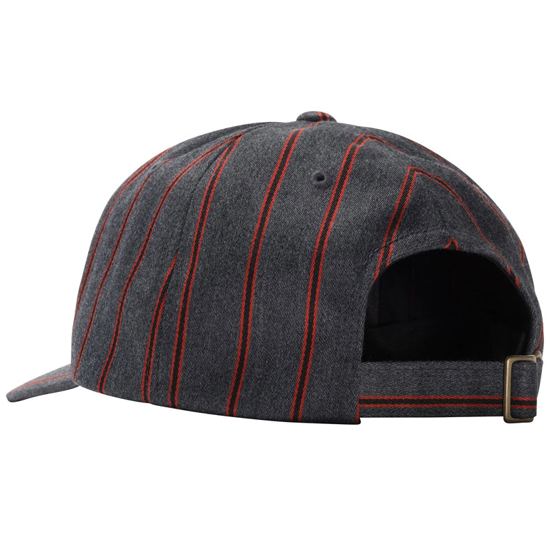 Big Logo Striped Low Pro Cap