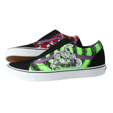 Nightmare Before Christmas X Vans Old Skool Shoes