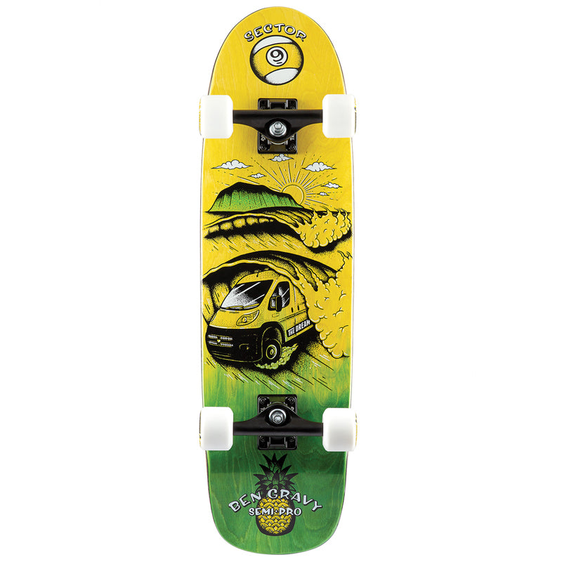 "Sector 9 Dream Gravy Semi Pro 31.5"" Cruiser Complete"