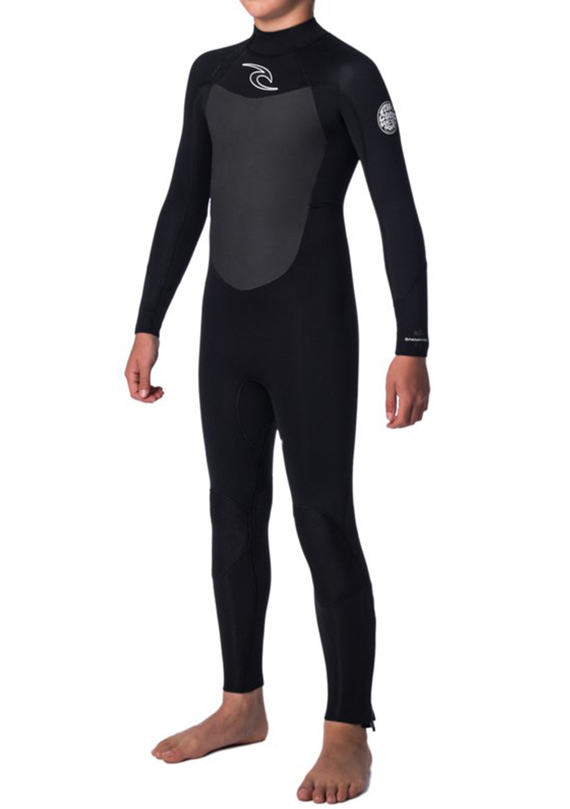 Rip Curl Junior Dawn Patrol 4 3 Back Zip Wetsuit a0d6368d9