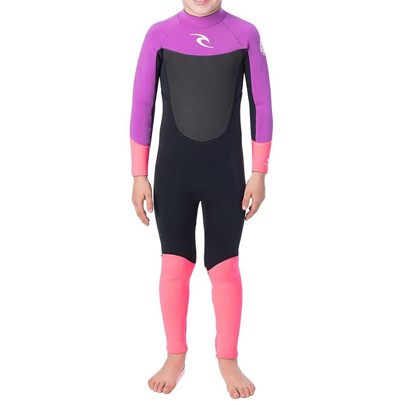 Rip Curl Groms Dawn Patrol 3/2MM Back Zip Fullsuit Wetsuit FA19