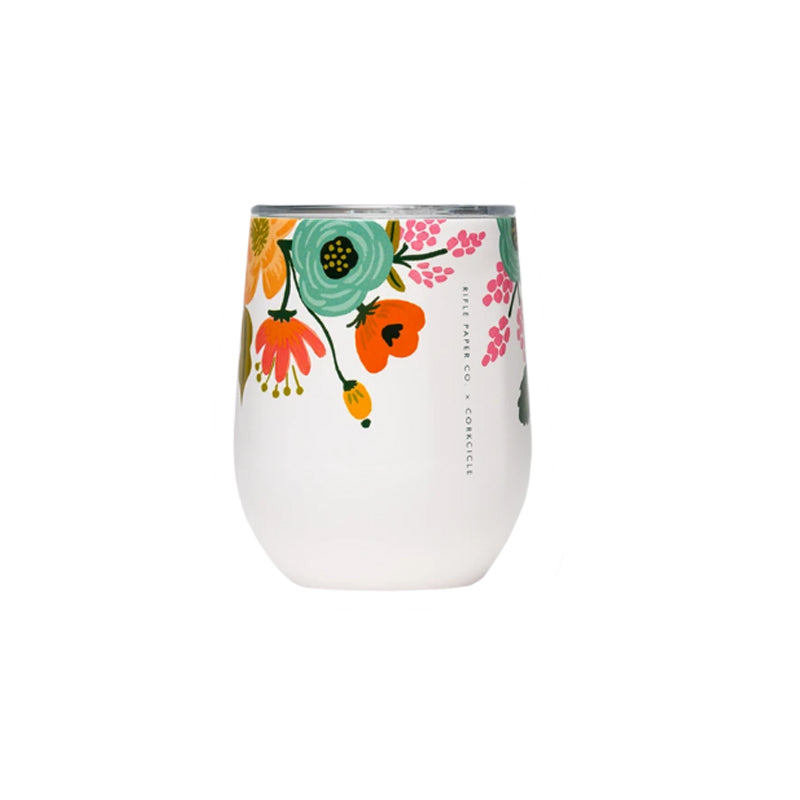 Rifle Paper Co. Stemless 'Floral Cream' Wine Cup