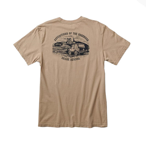 Roark Men's Expeditions Of The Obsessed S/S Premium Tee FA19