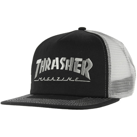 Thrasher Logo Mesh Cap Embroidered Hat