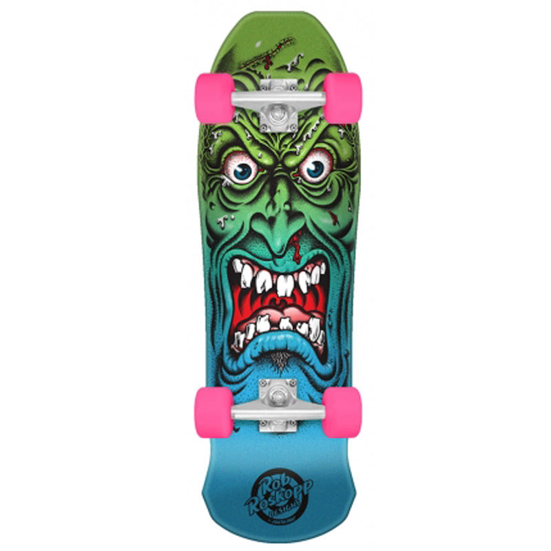 "Santa Cruz Mini Roskopp Face 8.025"" Complete Cruiser"